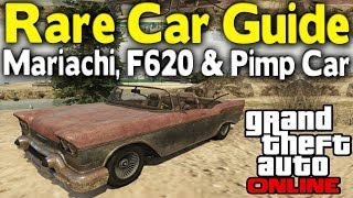 "GTA Online Ultimate ""Rare Car"" Guide Part 3 (Mariachi"