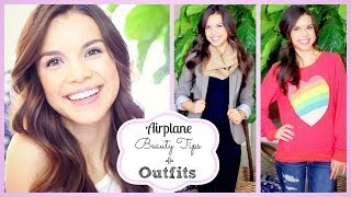 Airplane Makeup + Travel Outfit Ideas! ✈