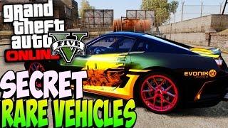 GTA 5 Next Gen FREE Collector Cars PS4 Gameplay Secret