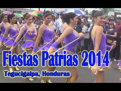 Desfiles Patrios 15 de septiembre Honduras 2014
