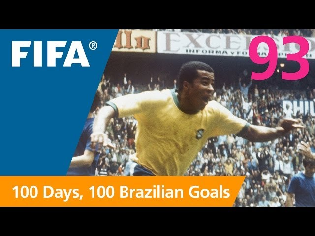 93 days to GO-AL! Jairzinho (Brazil 1970)