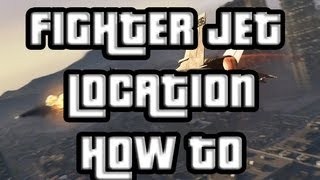 GTA V Fighter Jet Location And Overview! (GTA 5) P966