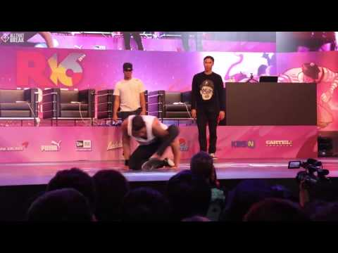 BENJI (DIVISION ALPHA) / JUDGE SHOW / R16 2014 Final Bboy 1 on 1 / Allthatbreak.com
