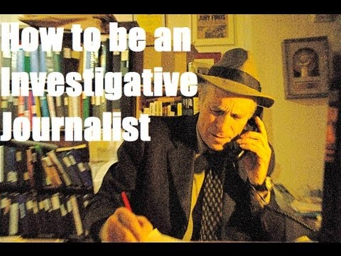 How to be an Investigative Journalist: Greg Palast