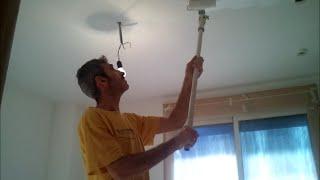 Pintar techos a rodillo