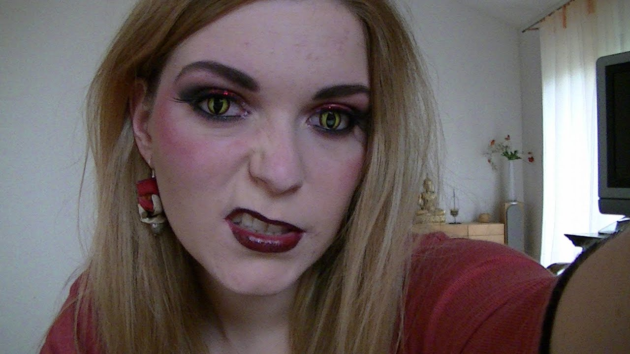 Maquillage d 39 halloween diablesse youtube - Maquillage halloween sexy ...