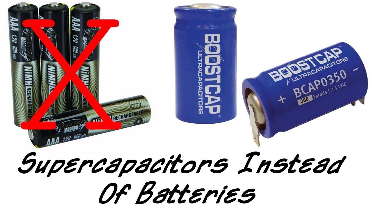 Using Capacitors As Electric Car Batteries