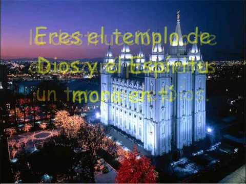 Eres el Templo de Dios  ( con letra )