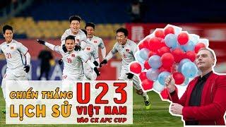 VIỆT NAM ƠI - Kyo York hát mừng U23 Việt Nam giành chiến thắng lịch sử