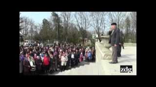 Provocări la Doroțcaia: Îndeamnă sătenii să dea jos tricolorul de pe primărie