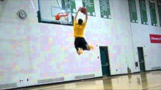 "5'11"" Explosive Dunker Jukebox Says, ""WEAK MEN CAN'T JUMP"