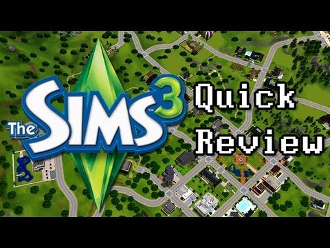 LGR - The Sims 3 Quick Review - Top 5 Reasons To Buy - YouTube