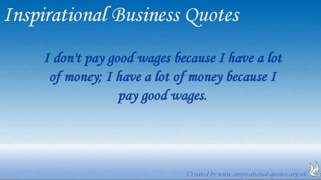 inspirational business quotes youtube