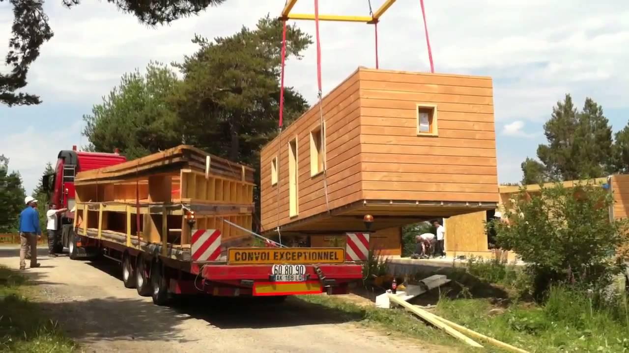 Maison modulaire solutech youtube - Maison modulaire prefabriquee ...
