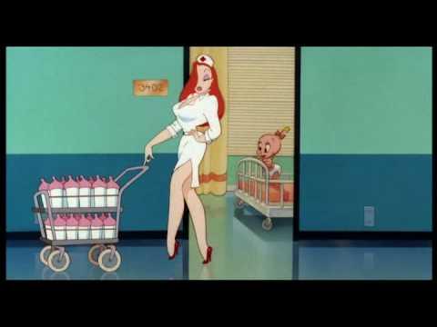 "Roger Rabbit Short #1 - ""Tummy Trouble"" (German) - YouTube Roger Rabbit Please Gif"
