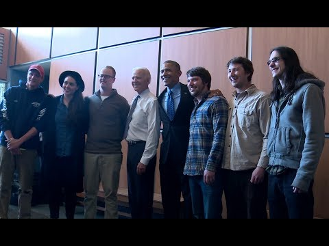 Raw Video: President Obama Meets Local Pittsburgh Band Comfort Tech