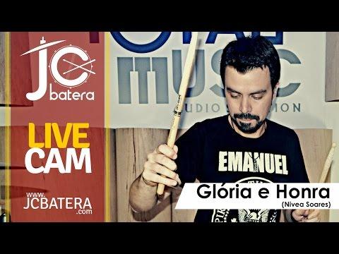 Glória e Honra - Conferencia Livres Curitiba #3 - Nívea Soares - JC Batera (Drum Cam)