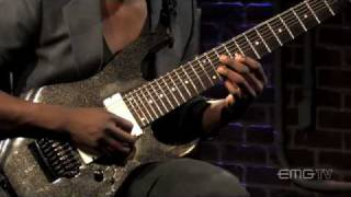 "Animals As Leaders, Tosin Abasi Plays ""Wave Of Babies"" On"