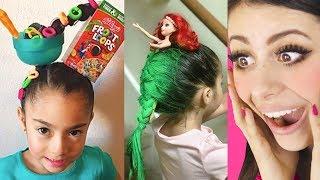 Craziest KIDS HAIRCUTS for School !