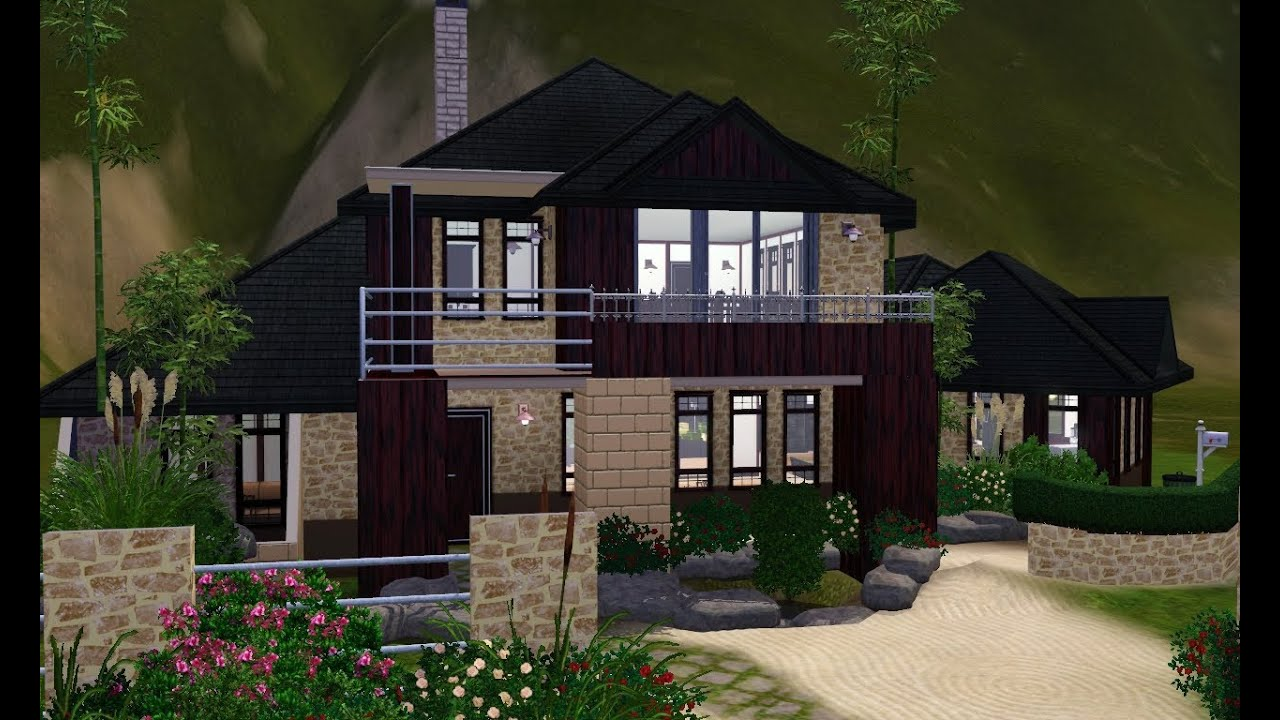 The sims 3 house designs asian inspired youtube Home design inspiration