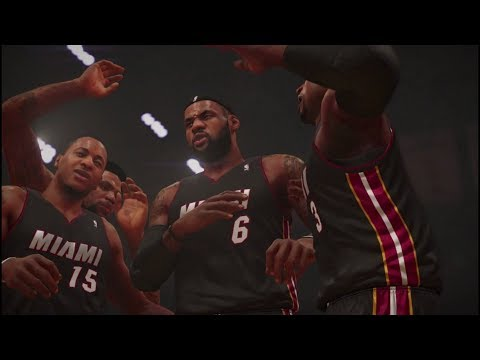 NBA 2K14 (PS4) - Quick Game: Miami Heat vs San Antonio Spurs [1080p HD]