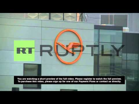 Germany: Lufthansa pilot strike grounds thousands of passengers