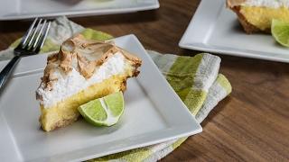 Key Lime Marshmallow Meringue Pie