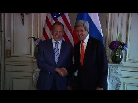 Kerry, Lavrov want peace and stability for Ukraine