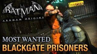 Batman: Arkham Origins Blackgate Prisoners (Most Wanted