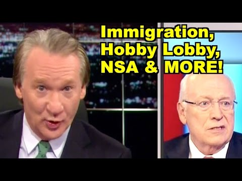 LiberalViewer Sunday Real Time Clip Round-Up - Hobby Lobby, Immigration, NSA - Bill Maher & MORE!