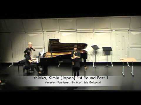 Ishioka, Kimie (Japon) 1st Round Part 1