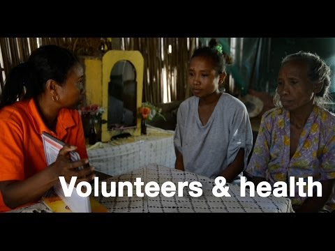 The value of volunteers in Timor-Leste: access to health and community empowerment
