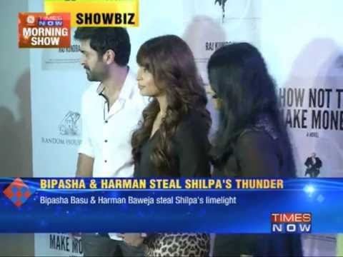 Bipasha Basu and Harman Baweja steal Shilpa Shetty's thunder