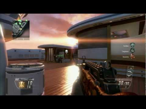 Black Ops 2 - Multiplayer Gameplay - Map Hijacked