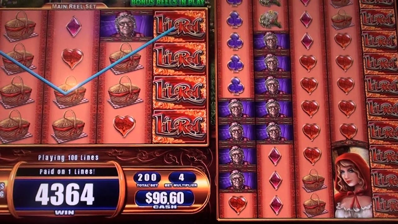 lil red slot machine jackpot