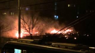 Ciocana în flăcări #Chişinău