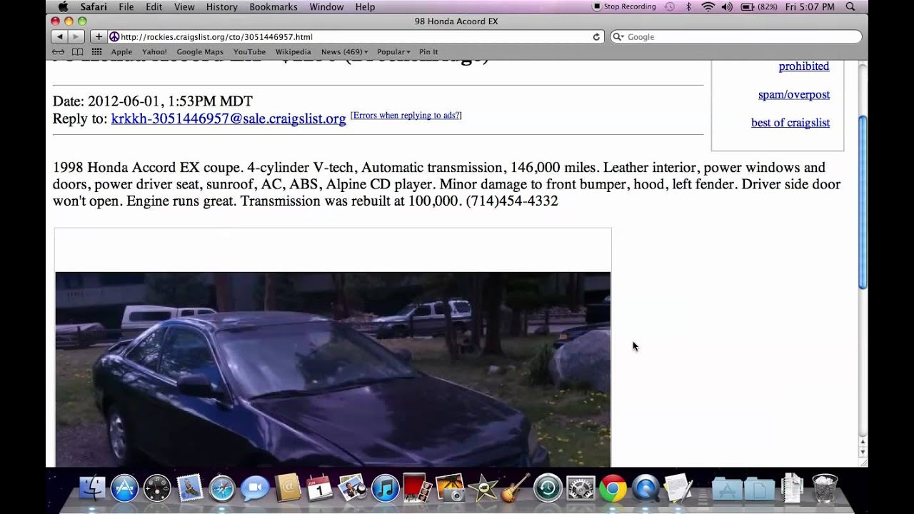 Craigslist Steamboat Springs Rockies Co Used Cars And