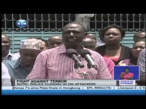 Deputy President Ruto joins other leaders in consoling victims of church attack in Linkoni
