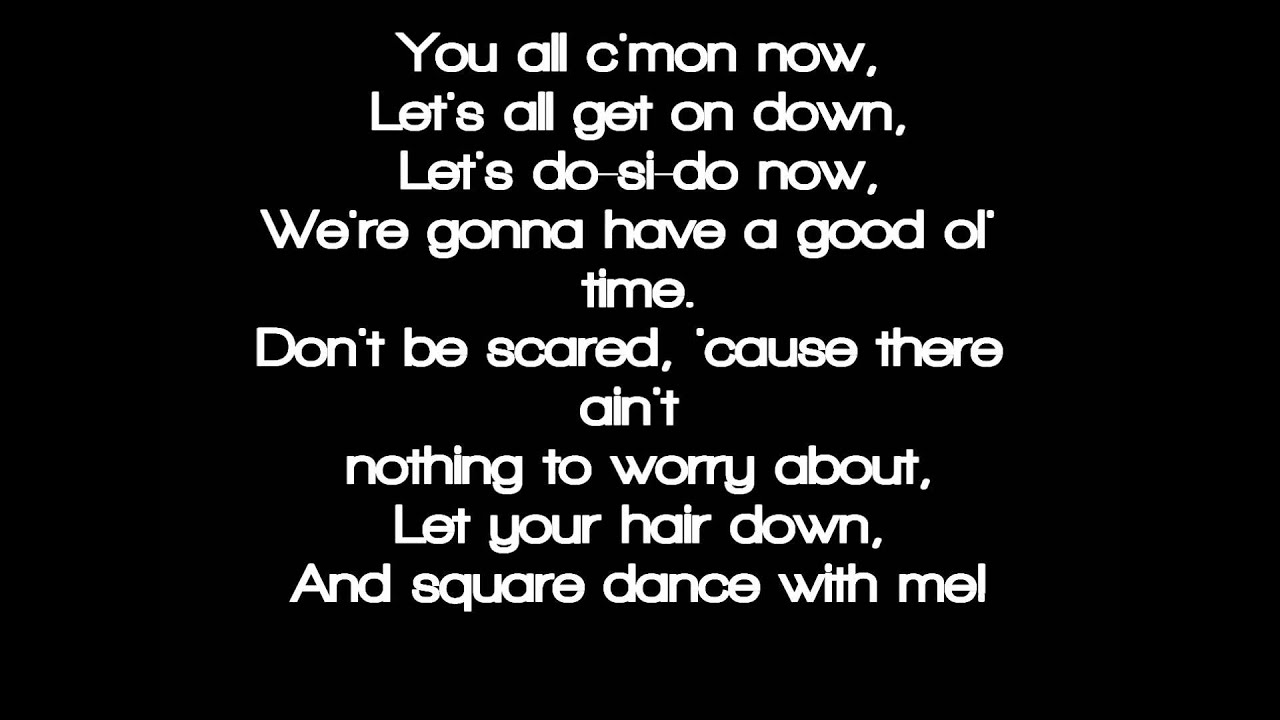 eminem square dance lyrics