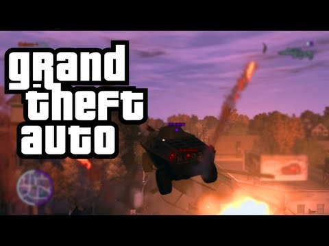 GTA Funtage: Tank vs. Helicopter | Random Funny Moments (Countdown to GTA 5)