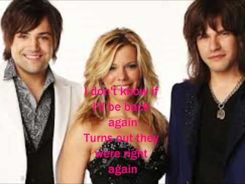 Back to me Without You (Pictures & Lyrics) - The Band Perry