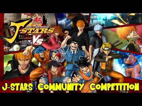 J-Stars Victory VS+ Anime Community Competition: Win Prizes, Copies of J-Stars VS, & More!