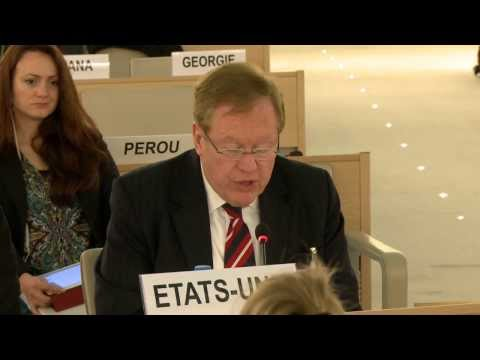 Ambassador Robert King Statement on North Korea at the Human Rights Council