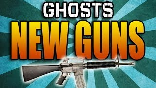 GHOSTS GUN DLC! New Guns & Extinction Episodes