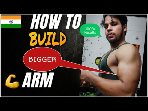 HOW TO GET BIG ARMS FAST ( Full Arms Workout ) || (हिंदी) 🇮🇳