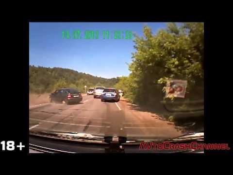 Аварии на видеорегистратор 2013 (140)