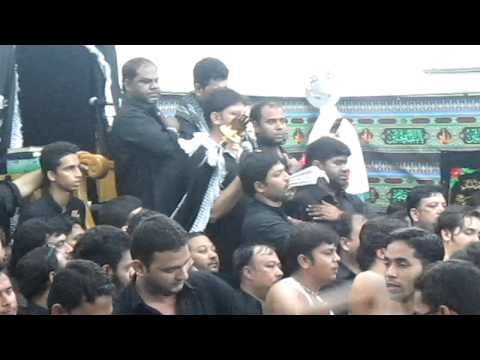 Anjuman e masoomeen  9th Muharram at dubai 2012 - 2013 part 1