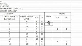 Tutorial Excel Como Sacar El Promedio