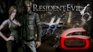 Resident Evil 6 Detonado (Walkthrough) Leon Parte 6 HD