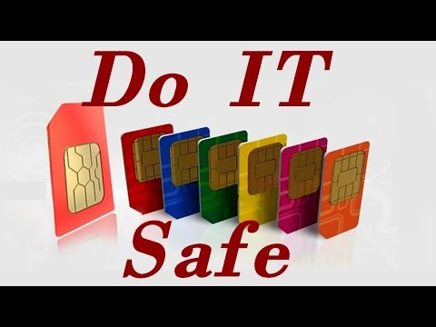 STUCK SIM card SOLUTION universal for all phones!
